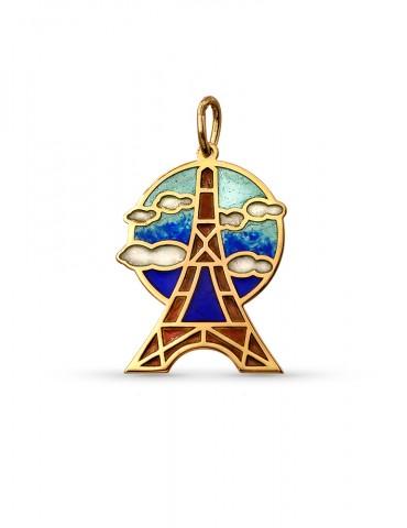 Paris or jaune Pendentif
